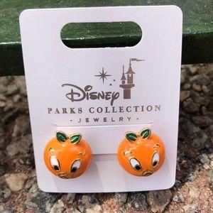 Disney Parks Collection Orange Bird post earring